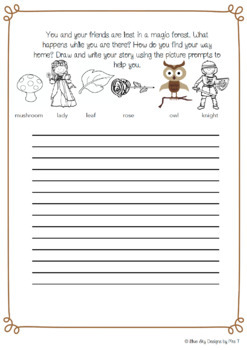 FREE Fairy Tale Writing Prompts