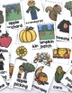 FREE Fall Activities: Fall Vocabulary Cards and Fall Word Search