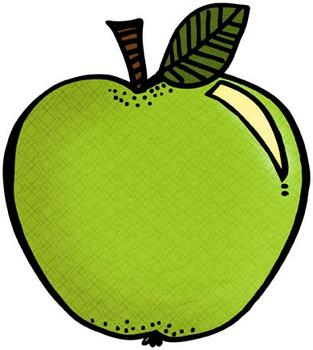 Fall Apple Clip Art