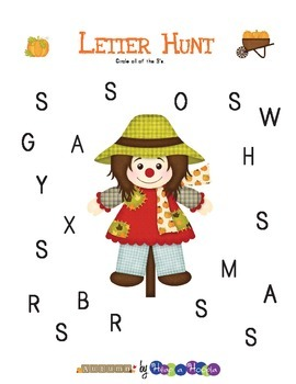 FREE Fall/Autumn Activity for Preschool and Kindergarten