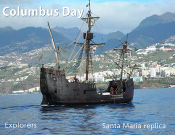 FREE - Fall | Clip Art & Poster | Columbus Day