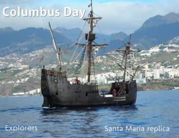 FREE - Explorers | U.S. History | Columbus Day Poster