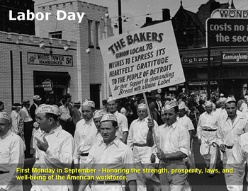 FREE - Labor Day Poster