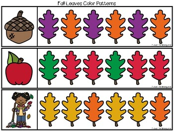 FREE Fall Color Patterns