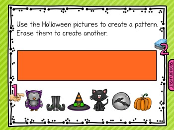 FREE Fall Halloween Thanksgiving October SmartBoard Math Problem of the Day