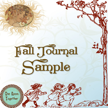 FREE Fall Journal Sample, HOMESCHOOL (pre-k, kinder, 1st, 2nd), Reading and Math