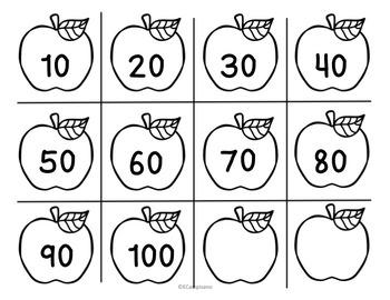 FREE Kindergarten Counting