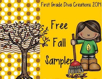 FREE Fall Sampler~Writing & Math Printable Activites