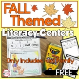 FREE Fall Themed Literacy Activity -ad family