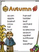 Fall Word Work