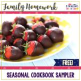 FREE Family Homework Cookbook Sampler: Winter Recipe