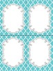 FREE Fancy Quatrefoil Editable Notecards, Notepad, Thank You Cards, etc.