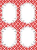 FREE Fancy Quatrefoil Editable Notecards, Notepad, Thank Y