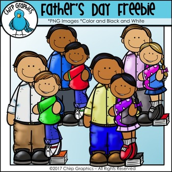 FREE Father's Day Clip Art Set - Chirp Graphics