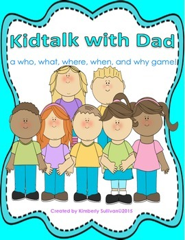 Free Downloads Father's Day Game! Centers!