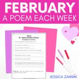 FREE February A Poem Each Week