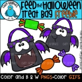 FREE Feed the Halloween Treat Bag GIF and PNG Clip Art