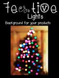 FREE Festive Lights Background