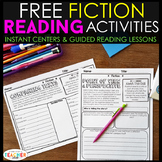 Fiction Reading Centers   Graphic Organizers for Reading FREE