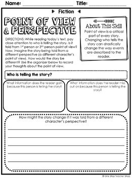 Fiction Reading Centers | Graphic Organizers for Reading | Google Classroom FREE