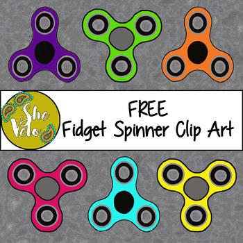 FREE Fidget Spinner Clip Art