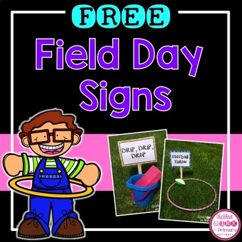 FREE Field Day Signs