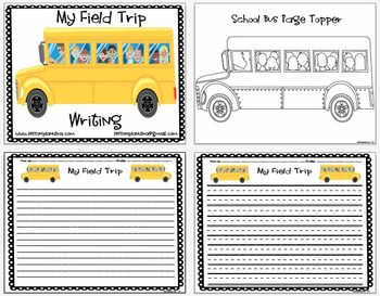 FREE Field Trip Writing Pack