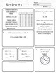 FREE Fifth Grade Spiral Review Morning Work/Homework/Quiz -- Week 1 and 2--MATH