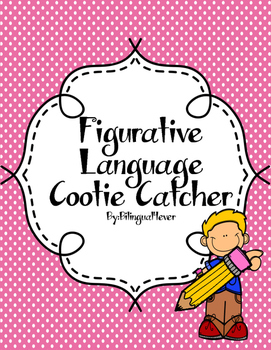 FREE Figurative Language Cootie Catcher