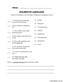 FREE Figurative Language Quiz