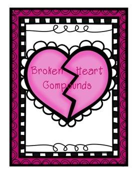FREE File Folder Game - Broken Heart Compounds
