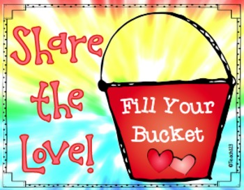 Fill Your Bucket Writing Center