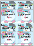 FREE!!! Fill in the blank Thank You Cards