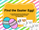 Easter FREE Prepositional Emergent Reader