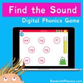 FREE! Find the Phonics Sound. Online Digital Phonics Games. Grapheme Recognition