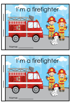 """FREE Fire Safety Mini Story """" Im a Firefighter"""""""