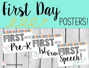 FREE First & Last Day Posters!