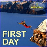 FREE - First Day of School Activities
