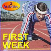 FREE - First Week of School Activities
