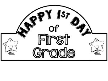 FREE First Day of School Crowns