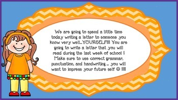 FREE First Days of School Writing Activity