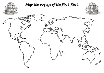 First Fleet mapping