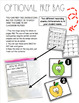 FREE First Grade Apples Task Cards Reading and Writing Color Words
