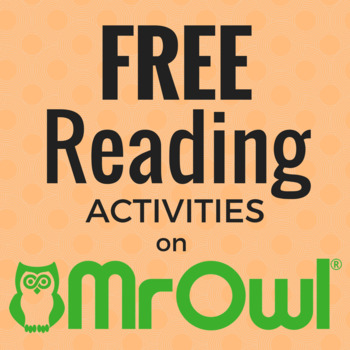 FREE First Grade Reading and Writing Activities on MrOwl