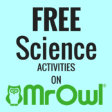 FREE First Grade Science Activities on MrOwl