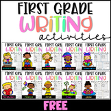 FREE First Grade Writing Activities