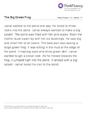 FREE First Grade reading passages