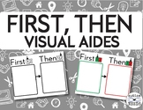FREE First, Then Visual Aides for Autism, Special Education