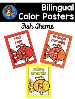 FREE Fish Color Posters