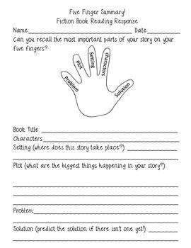 FREE Five Finger Summary